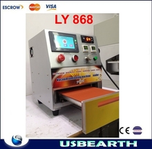 oca vacuum laminating machine 12 inch LY 868 one-touch operation with Touch screen control
