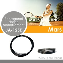 Professional For top spin player 1.21mm-1.29mm Black pentagonal shape for tennis racket tennis string