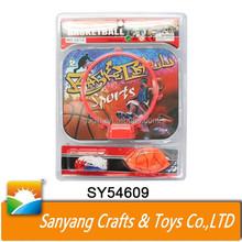 Children indoor basketball stand plastic basketball back stop