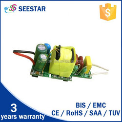 220V/240v 4w 7W indoor bulb led driver 300MA led power supply