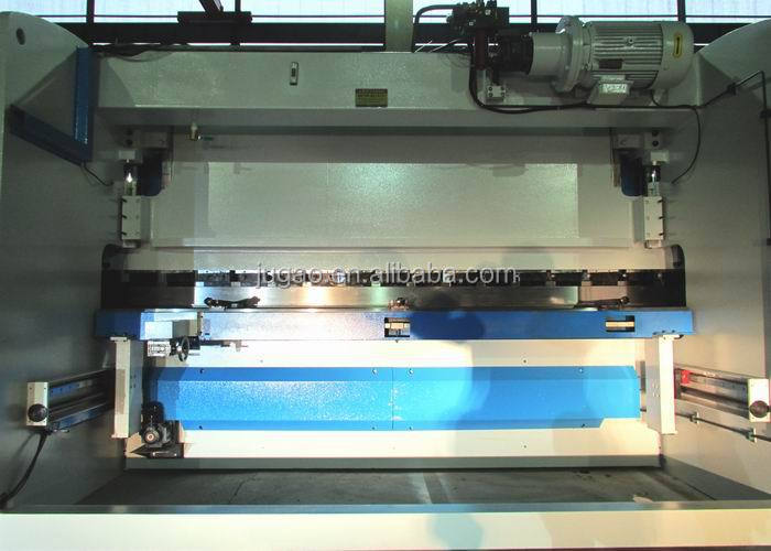 sheet metal folding machines WC67Y-125TON/3200 Wtih quick clamps