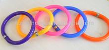 silicone bracelet ball pen,novel colorful ball pen for children