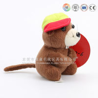 Small size plush cat toy mouse, mini mouse