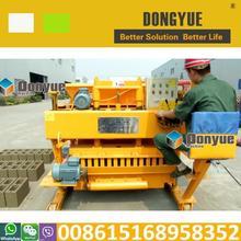 Qtm6-25 semi automatica in mattoni di cemento idraulico che fa macchina