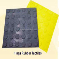 rubber guiding blind tactile warning brick