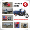 Hot Sell Tricycle Parts in Peru and South Africa, Rickshaw Spare Parts