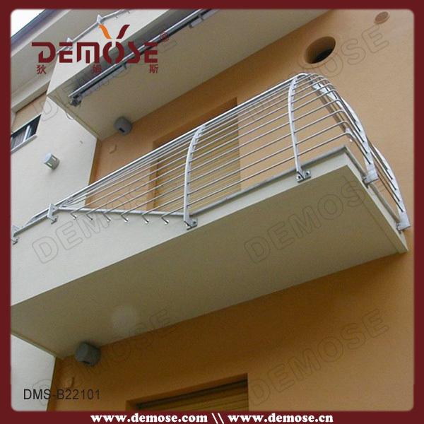 Modern balcony stainless steel window grill design buy for Stainless steel balcony grill design