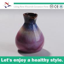2015 modern design customized shape ceramic vase