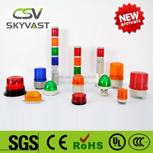 Manufacture warning light IP30 blue red yellow green police lights led motorcycle