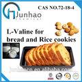 Junhao producto de la fábrica de grado de alimentos de alta calidad de l- valina amoniocas. 72-18-4