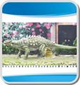 animatronic ankylosaurus für dinosaurier zeigen