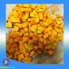 top quality peeled IQF frozen pumpkin cubes /dices from China