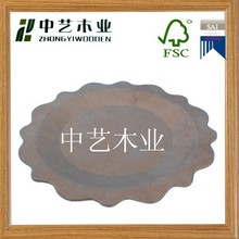 Strong wooden bed tray , square serving tray , dry fruit tray