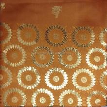 2015 fashion wholesale orange swiss regular headties/african gele headtie for party