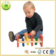 2015 Kids Wooden Table Punch Toy WoodenToy Baby/Toddler/child Gift/Fun Play New