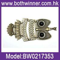 big turquoise necklace blue turquoise owl necklace 0217353-69