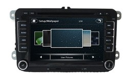 1080 P VW Passat CC DVD Player with CE and ROHS Certificates