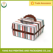 Customized Colorful snacks food plastic packaging box