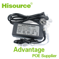 5.5*2.1/5.5*2.5 POE adapters IP Camera DC 24V 4A switching power adapter/power supply