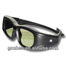 cheap Active Shutter 3D eyewear/glasses support Infared and bluetooth signal for Sony/ Samsung/ Sharp/ LG/ PANASONIC/3D TV