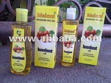 Hazelnut Massage Oil for woman