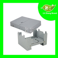Convenience Travel Or Army Folding camping solid fuel stove