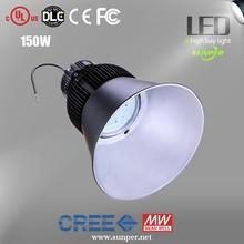 Aluminum Alloy Lamp Body Material and IP65 IP Rating 220V 230V 277V 150w led flood light/Led High Bay Lights