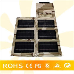 Factory Best Price 24W/18V Portable Foldable Solar Rechargeable Bag