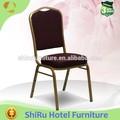 preço de fábrica de ferro cadeira do banquete