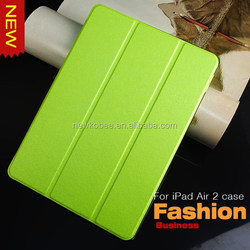 New tablets cases For iPad Air 2 Smart Cover For iPad Case Instock