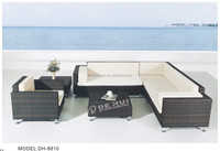 2015 wicker furniture Rattan corner sofa furniture /ratan garden furniture sectional sofa