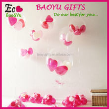 12 Inch Transparent Party Latex Free Balloons Wedding Decoration Balloon Balloon Stand For Decoration