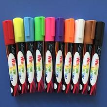 WINDOW CHALK MARKERS - MEGA 10 Pack - Each Premium Quality Pen With Unique Reversible Tip