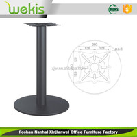 2015 Cheap Metal Chrome Cast Iron Dining Table Base