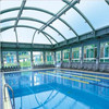 Polycarbonate Swimming Pool Covers For Outdoor Pool on the water