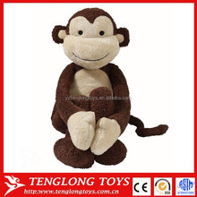 Plush toys Farting funny monkey ,Plush Monkey Stuffed Monkey Toy