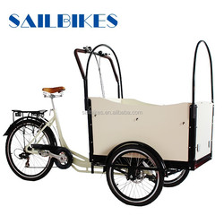 pedal assisted cargo tricycle jx-t05 on sale