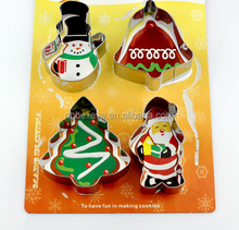 Wholesale Christmas Decorations cookie cutters, Stainless steel Cookie cutters