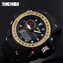 SKMEI 2015 New Hot Seller 1063 Men Watches Dual Time Zone Original Factory