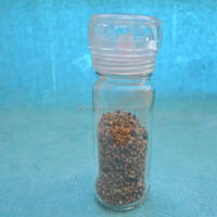 Rock Salt & Organic Black Pepper Grinder