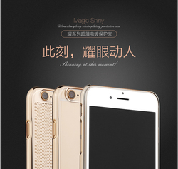 Original Benks Magic Shiny Series Ultrathin Electroplating PC Hard Back Cover Case For Iphone 6