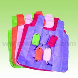Colorful Hdpe Polyester Fold Up Shopping Bag