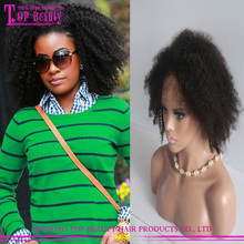 New design afro wig very fashion afro kinky human hair wig for black women wholesale price afro kinky human hair wig