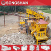 portable crusher &screen machine