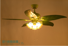 UL environment--friendly Air cool 48'' ceiling fans cooling fans with lights.