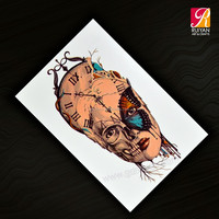 Symbol Temporary Tattoo Body Tattoo Designs for Women AD-036
