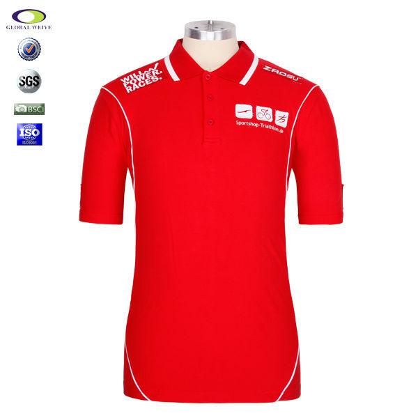 100 Cotton High Quality Customer Polo Shirt Embroidery