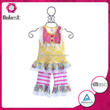 little girls boutique remake clothing sets 2015 wholesale kids spring remake outfits baby persnickety fall clothing set