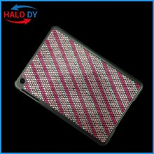 High quality case for ipad, for ipad case, bling crystal diamond pc case cover wholesale