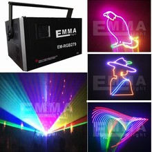 5.5w RGB expensive but high quality disco laser light show/ laser disco light for sale